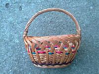 Корзина плетеная для детей