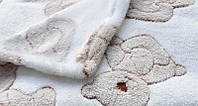 """Детский Плед одеяло  """" Мишка """" для новорожденного в роддом 110*95"""