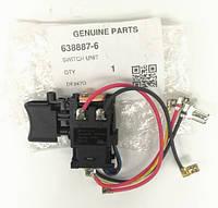 Кнопка включення шуруповерта DF347D HP347D Makita 638887-6