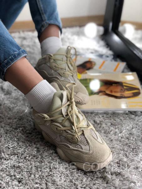 8fd917e0 ... Кроссовки мужские Adidas Boost Yeezy 500 blush Топ качество , бежевый,  ...
