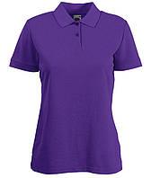 Женская футболка поло  LADY-FIT  Фиолетовый