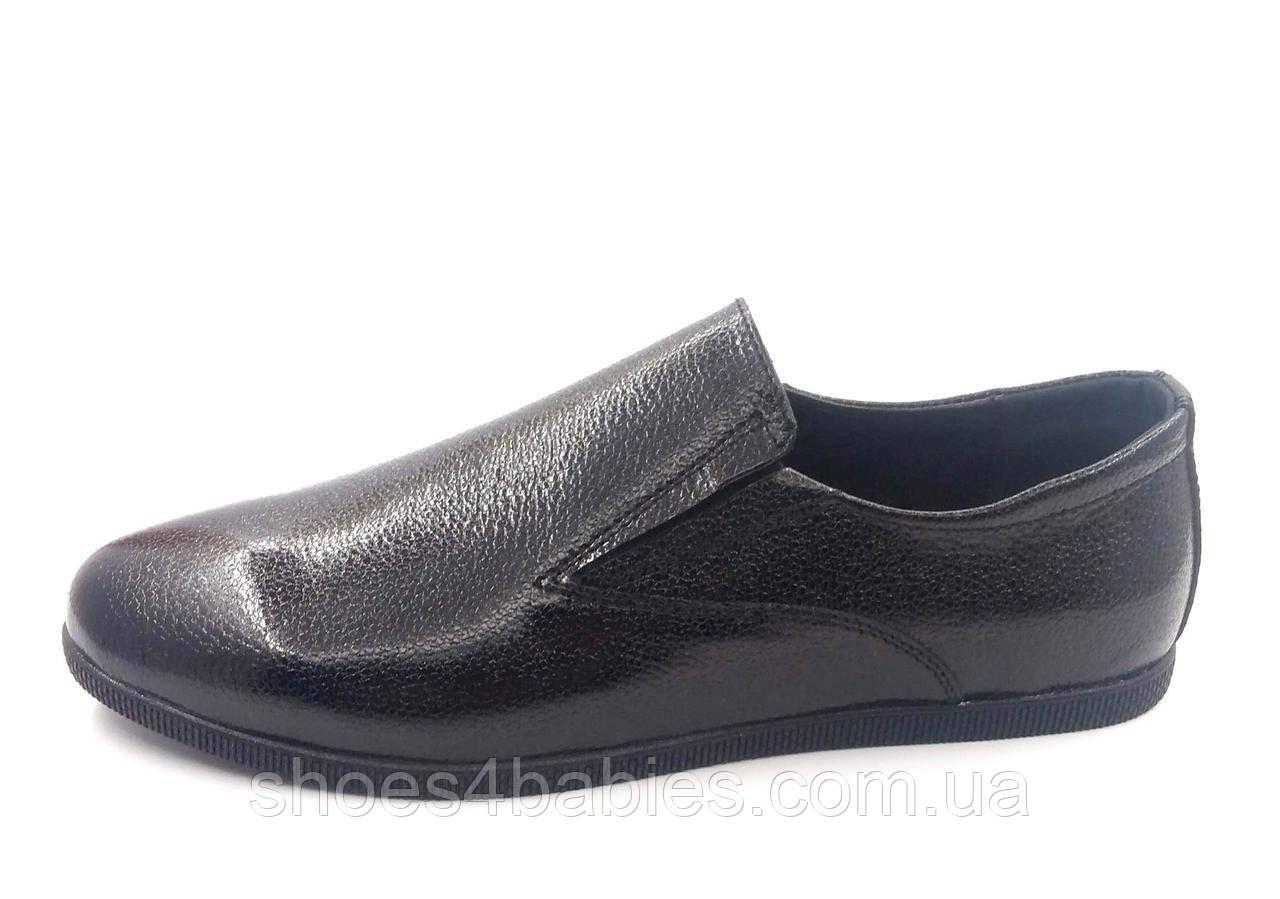 Туфли для девочки кожаные р. 37 - 23,5см