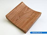 Монетница деревянная без бортиков