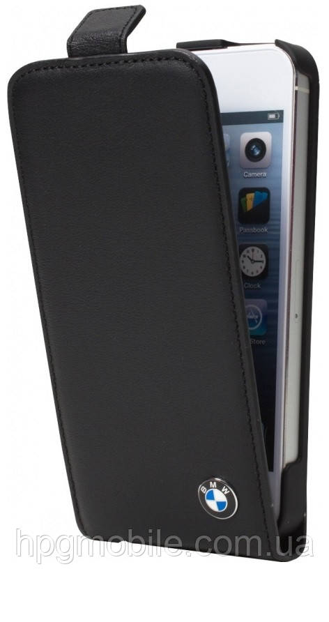 Чехол для iPhone 5/5S - BMW Signature collection leather flip