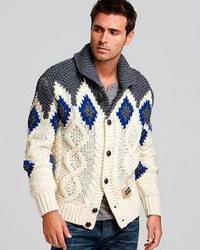 Вязаная мужская одежда и аксессуары