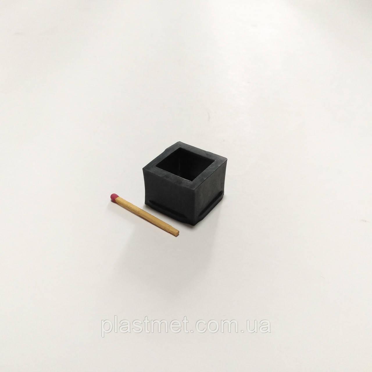 Заглушка перехідна з 25х25 на 20х20 мм