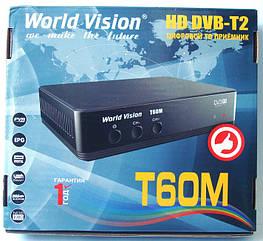 Цифровой тюнер DVB-T/T2 World Vision T60М