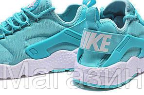 Женские кроссовки Nike Air Huarache найк хуарачи голубые, фото 3