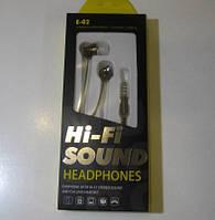 Навушники HI-Fi Sound (E02)