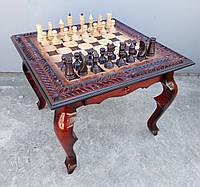 Стол шахматный ручной работы, фото 1