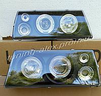 Передние фары на ВАЗ 2108-2109-21099 (черный)