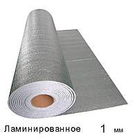 Спінений поліетилен ламінований 1 мм - 1м × 50м