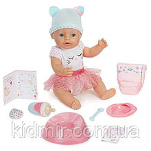 Беби Борн Кукла интерактивная Голубоглазая малышка Baby Born Zapf 916007
