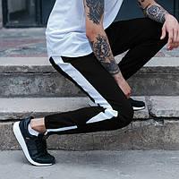 Мужские спортивные штаны Rocky Черно белые бренд ТУР