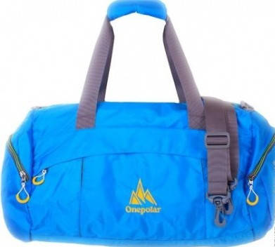 Удобна спортивная сумка, дорожная 35 л. Onepolar (Ванполар) Артикул: W2055-blue