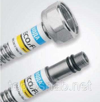 """Шланг для смесителя Eco-Flex М 10-1/2"""" В 60 см., фото 2"""