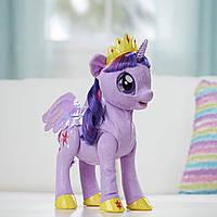 """Интерактивная игрушка пони Искорка Hasbro My little Pony """"Сияние"""", принцесса Твайлат Спаркл"""