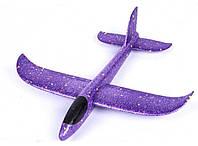 Планер метательный EXPLOSION, размах крыльев 49 см, фиолетовый, фото 1