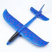 Планер метательный EXPLOSION, размах крыльев 49 см, синий, фото 1