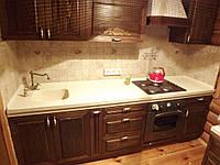 Кухонная столешница из литьевого мрамора