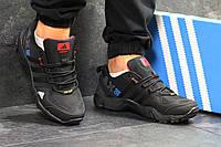 Кроссовки мужские Adidas AX2 спортивные удобные стильные классические для зала (черные), ТОП-реплика, фото 1