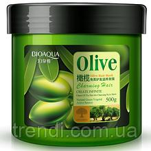Маска для волосся з маслом оливи Bioaqua Olive
