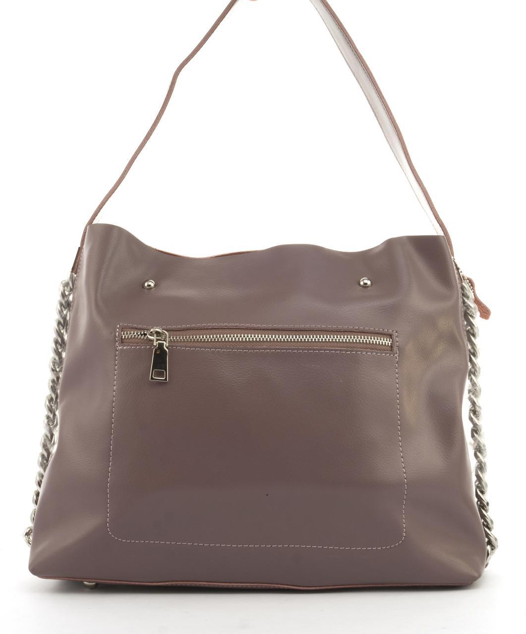 bb756d6e1ace Суперстильная вместительная кожана прочная женская сумка CELINE art. 10015  сиреневая - Ремешок и Кошелек в