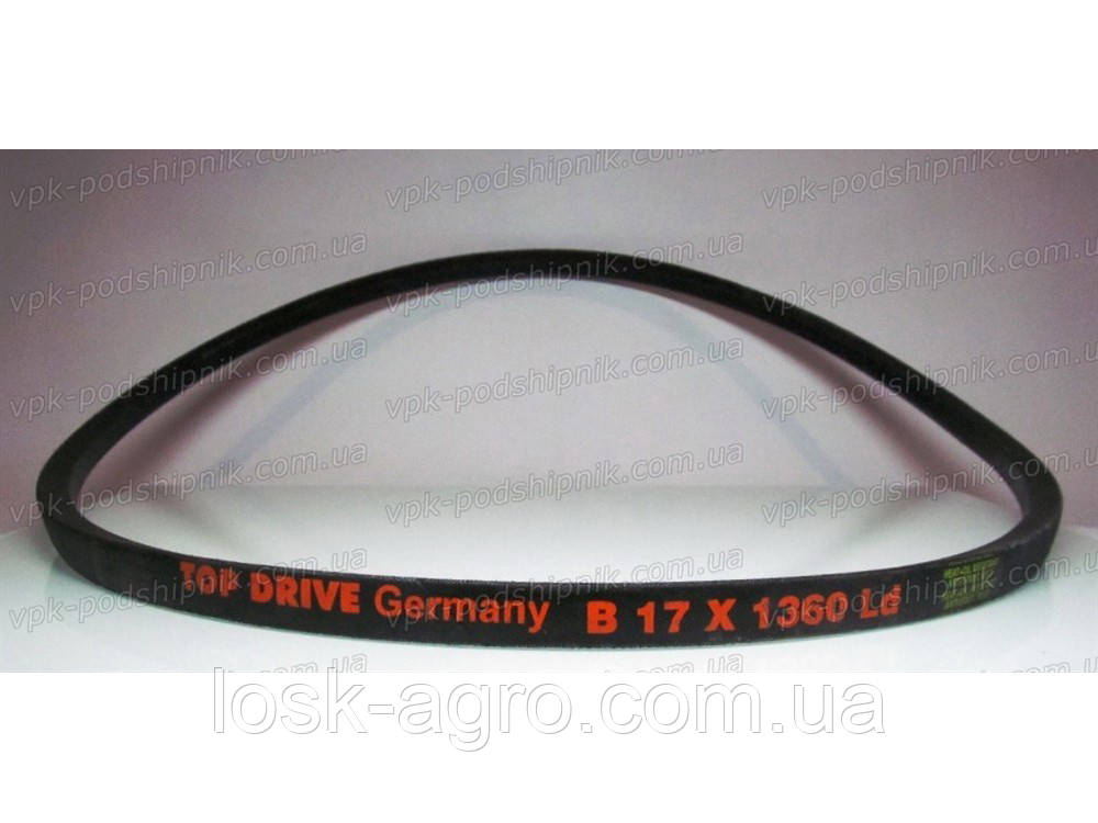 Ремень приводной клиновый B-1360 Б-1360