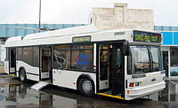 Новый низкопольный троллейбус МАЗ-103Т-70