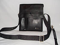 Мужская сумка Gorangd 7724-2 черная малая, фото 1