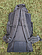 Туристический, городской, дорожный рюкзак Eveveme 90+10 литров (черный), фото 3