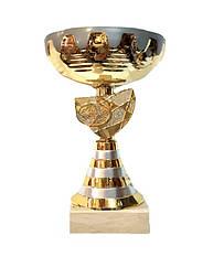 Кубок наградной 23 см металл
