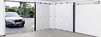 Откатные секционные гаражные ворота HST
