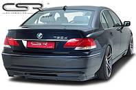 Юбка накладка заднего бампера дифузор BMW E65 FL (05-08)