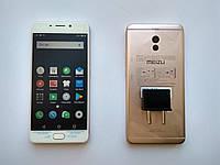 Meizu M6 Note gold 3/32Gb + 2.5D стекло+чехол
