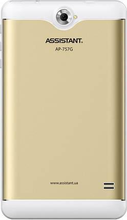 "Планшет Assistant AP-757G Gold 7"" 3G 16GB IPS RAM 1/16Gb Гарантия 12 месяцев, фото 2"