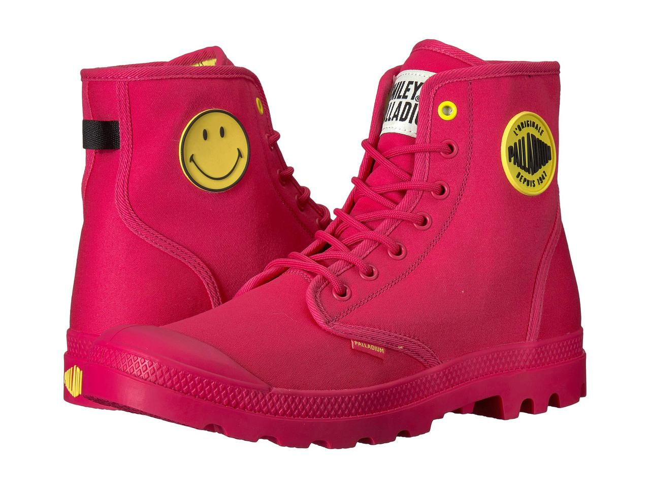 Ботинки Сапоги (Оригинал) Palladium Pampa Smiley Festbag Azalea — в ... 0697104184f4a