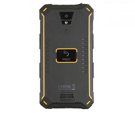 Смартфон Sigma Х-treme PQ24 Black-Orange Гарантия 12 месяцев, фото 2