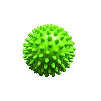 Массажный мяч с шипами Qmed Massage Balls 7 см, зеленый