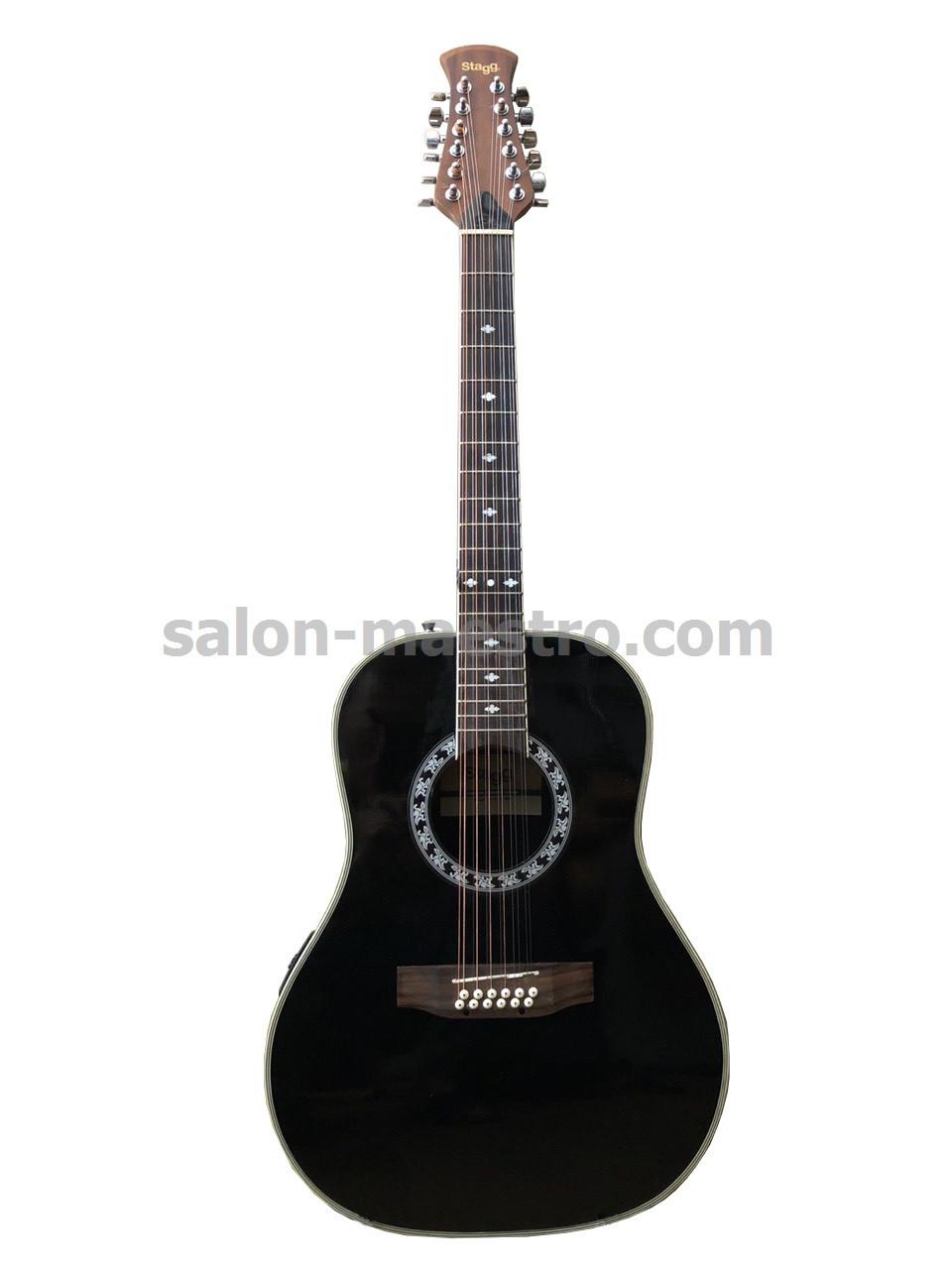 (01\0727) Электроакустическая 12-струнная Гитара Stagg