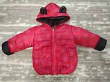 Теплый костюм демисезонный детский Сердечки (9 мес-2,5 лет), фото 4
