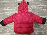 Теплый костюм демисезонный детский Сердечки (9 мес-2,5 лет), фото 5
