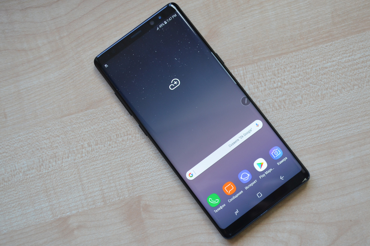 Samsung Galaxy Note 8 SM-N950U Midnight Black Оригинал!