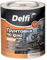 Грунтовка по ржавчине ПФ-010М ТМ Delfi (2,8кг)красно-коричневая