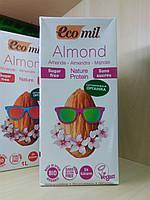 Молоко з Мигдалю з Протеїном гороху [Без Цукру. Без Лактози. Без Глютену. Органічне рослинне молоко]