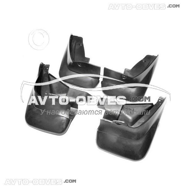Брызговики для Субару Форестер 2002-2008 полный комплект - 4-шт
