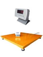 Напольные весы для взвешивания товара ЗЕВС™ ЭКОНОМ тип ВПЕ 1512 до 3 тон, фото 1