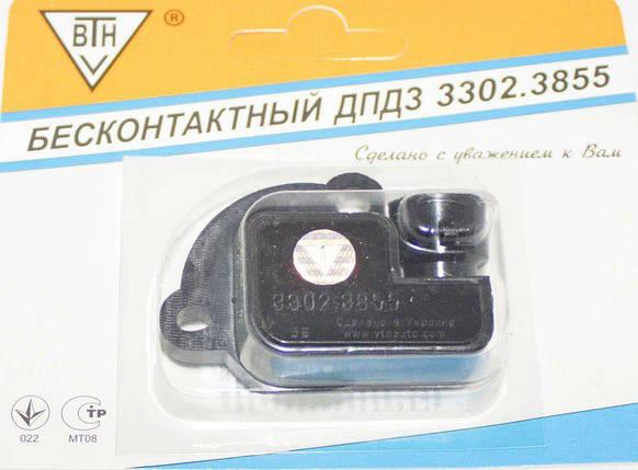 Датчик положения дроссельной заслонки 3302 (ВТН), фото 2