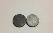 Магнит круглый ферритовый заготовка 18Х3 мм. Магніт заготовка, фото 2