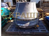 Sandvik H4800 (CH440) Футеровка конуса (Броня) 442.7225-02 и Футеровка чаши (Броня) 442.8419-02